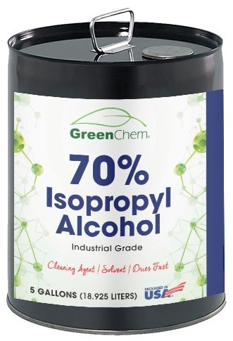 5 gallon Isopropyl alcohol 70%